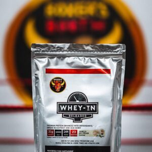 Boxers booth whey in protein vanilla